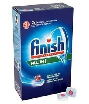 Bán Viên rửa bát Finish All-in-One hộp 104 viên