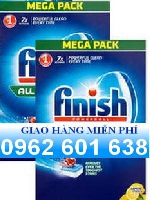 Bán viên rửa bát finish 104 viên nk chính hãng thích hợp cho mọi loại máy rửa bát