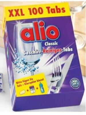 Viên rửa bát cao cấp alio hàng nk nguyên hộp từ CHLB Đức (Hộp 100 viên)