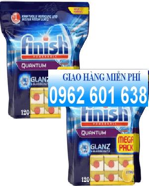 Bán Viên finish Quantum Powerballs Glanz &Glasschutz, chuyên dùng cho máy rửa bát