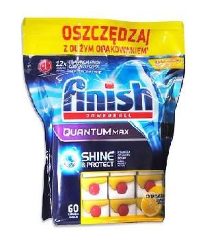 Bán viên rửa chén finish Quantum 120 viên, giao hàng tận nơi
