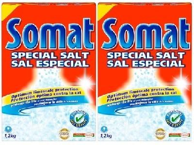 Bán muối rửa bát somat 2,4kg nhập khẩu chính hãng