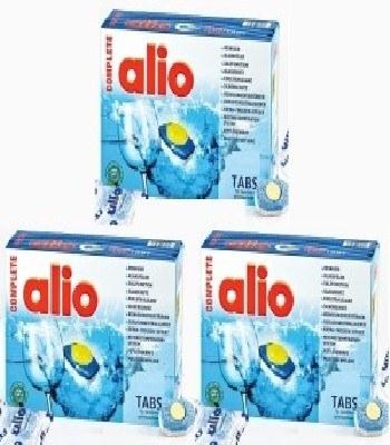 Viên rửa bát Alio 120 tabs của Đức