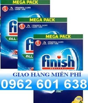 Viên rửa bát finish 156 viên sản phẩm chính hãng