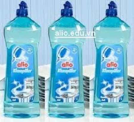 Nước làm bóng alio chuyên dùng cho máy rửa bát gia đình