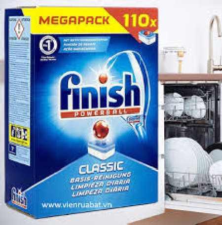 Viên rửa bát finish 110 viên nhập khẩu nguyên hộp đức