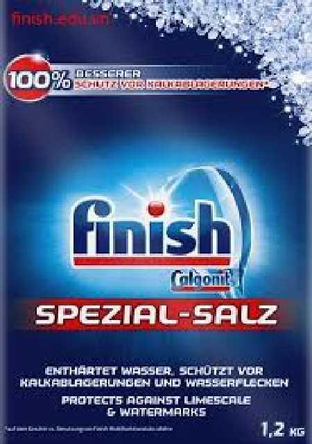 Bán muối rửa bát finish 1,2kg  giá rẻ, bán hàng toàn quốc