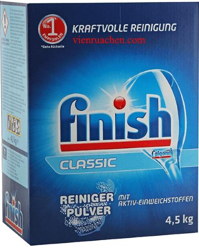 Bột rửa chén finish classic calgonit Reiniger Pulve 4,5kg Made in EU