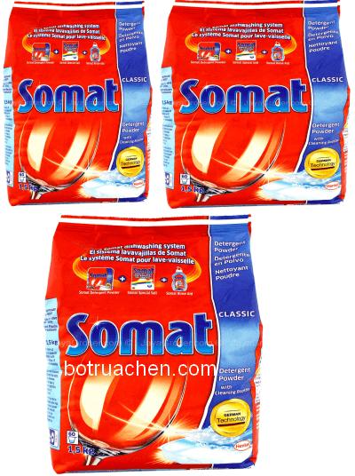 Bột rửa chén Somat Classic Detergent Power loại 3.6kg
