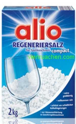 Muối Rửa Chén ALio conpact regeneriersalz 2kg
