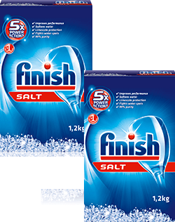 muối rửa chén finish salt 1,2kg Made in EU