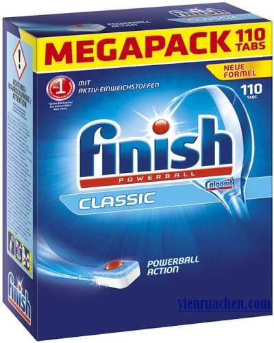 viên rửa chén finish classic powerball 110 tabs nhập khẩu đức