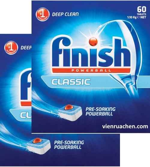 viên rửa chén finish giá rẻ chuyên dùng cho máy rửa chén 120 viên