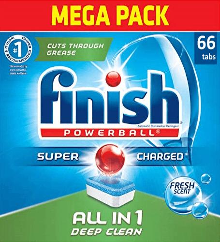 viên rửa bát finish đức 66 viên all in 1 dùng cho máy rửa bát chén