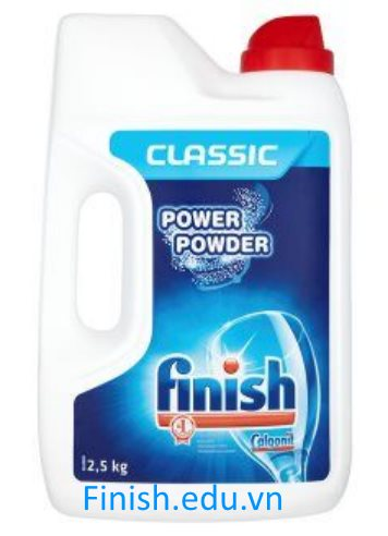 bột rửa chén finish 2.5kg nhập khẩu châu âu dùng cho máy rửa chén