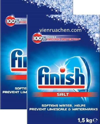 muối rửa chén finish 3kg nhập khẩu chính hãng từ châu âu